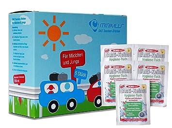 De emergencia inodoro Bundle para niños para pequeñas Urgente necesidades en el coche, la acumulación