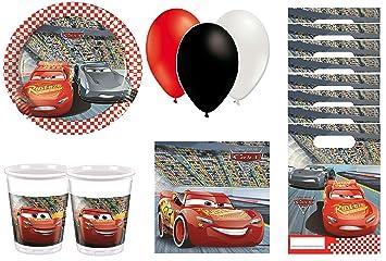 Cumpleaños Cars - kit de cumpleaños 8 personas: Amazon.es ...