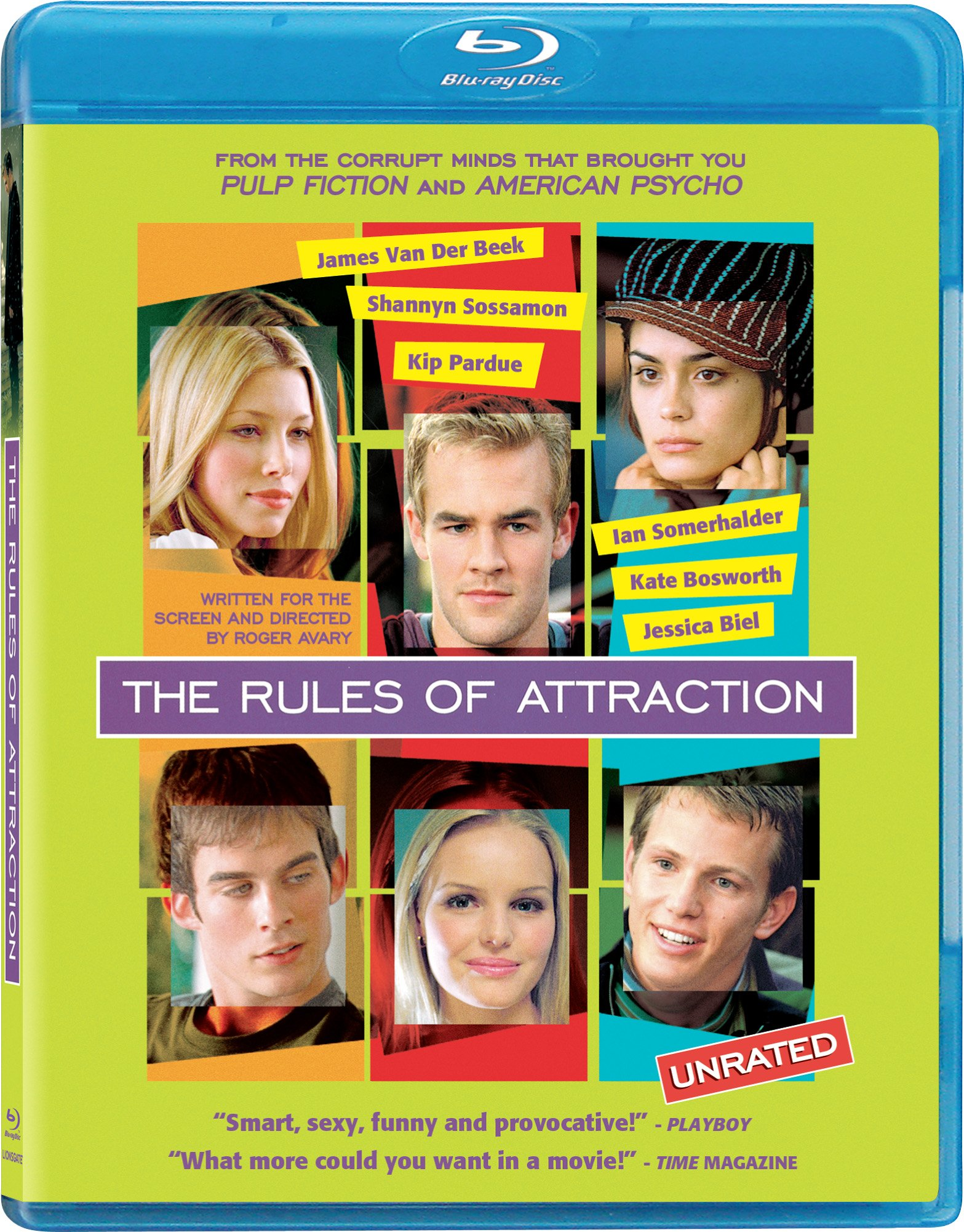 Blu-ray : The Rules of Attraction (Digital Theater System, Widescreen, , Dolby, AC-3)