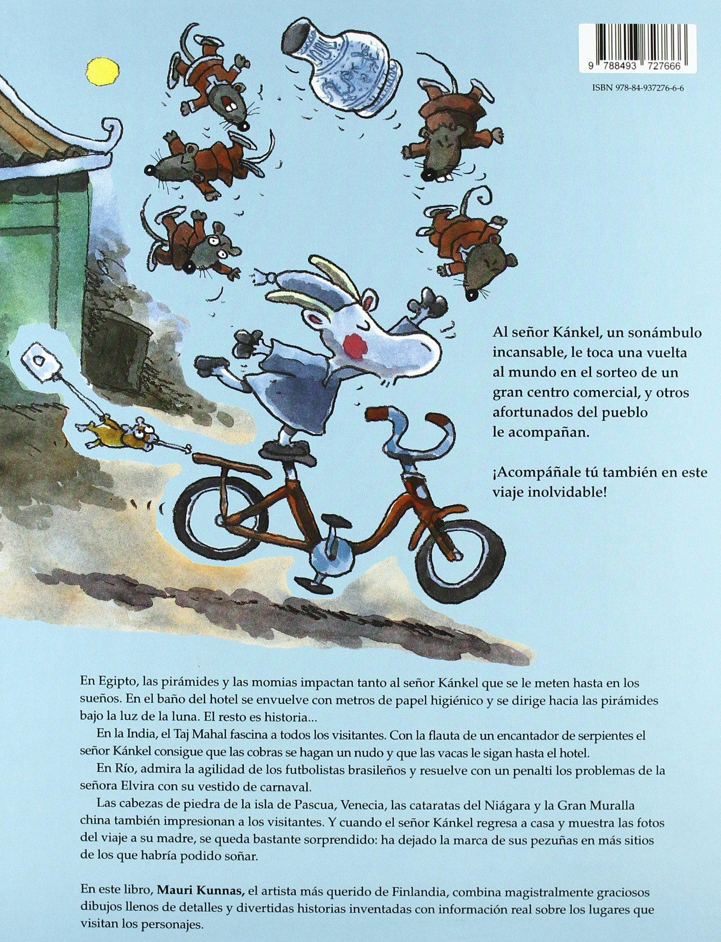 Vuelta Al Mundo Del Señor Kankel, La: Amazon.es: Kunnas, Mauri: Libros