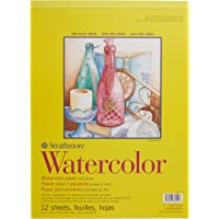 "Strathmore Watercolor Paper Pad 11""X15""-12 Sheets"