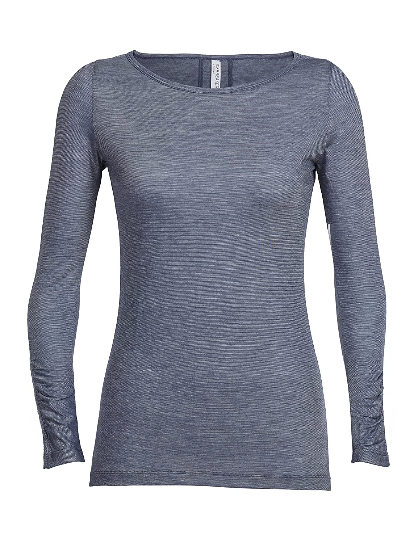 245ca332de91 Amazon.com  Icebreaker Merino Women s Nomi Long Sleeve Shirt