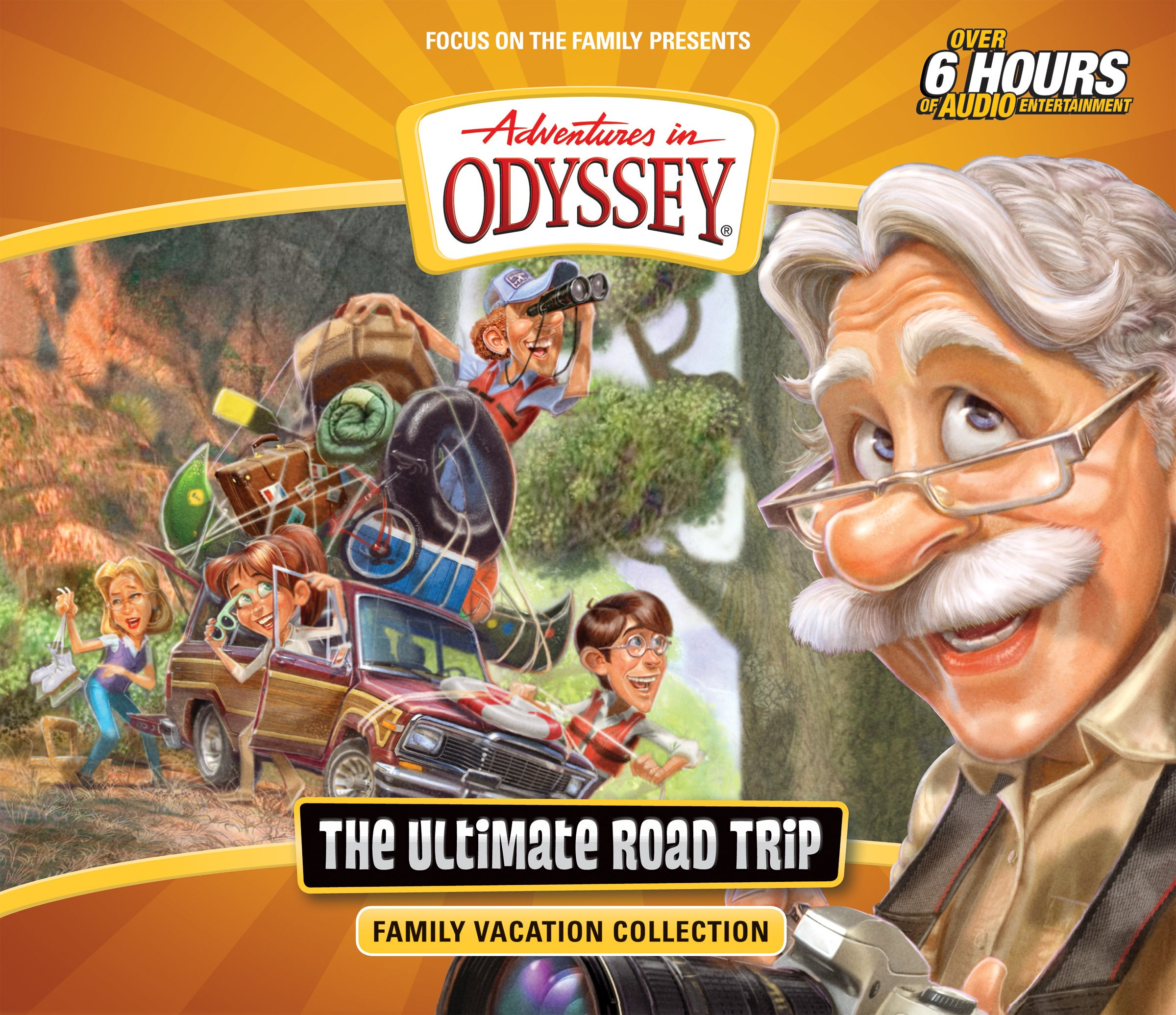 The Ultimate Road Trip: Family Vacation Collection (Adventures in Odyssey) by Tyndale House Publishers (Image #1)