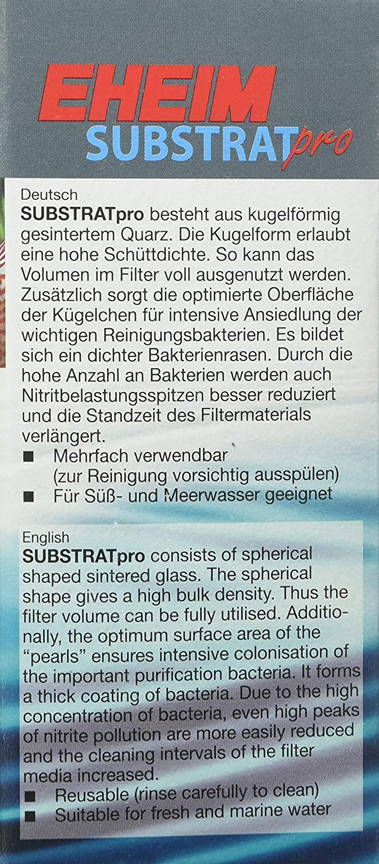 Eheim Substrat Pro - Sustrato para acuario, 2000 ml (medio biológico de filtración): Amazon.es: Productos para mascotas