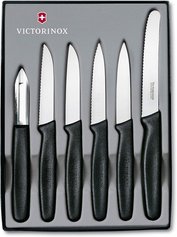 Victorinox VIC-46652 Black Paring 6-Piece Sets Popular Memphis Mall popular Set