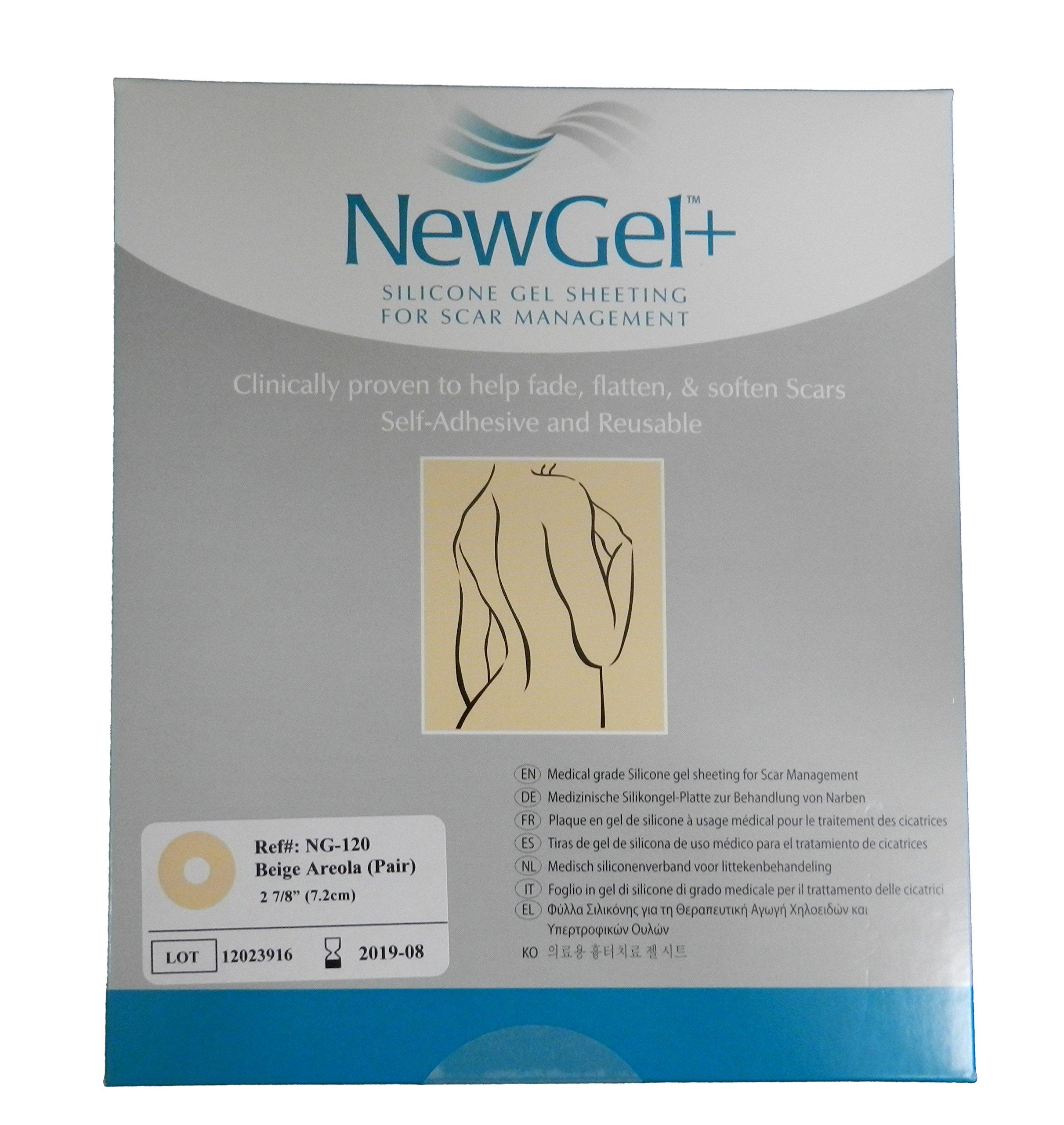 Amazon Com Newgel Silicone Gel Sheeting For Scar Management