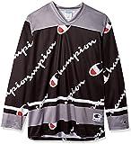 Champion LIFE Men's Hockey Jersey, Black AOP