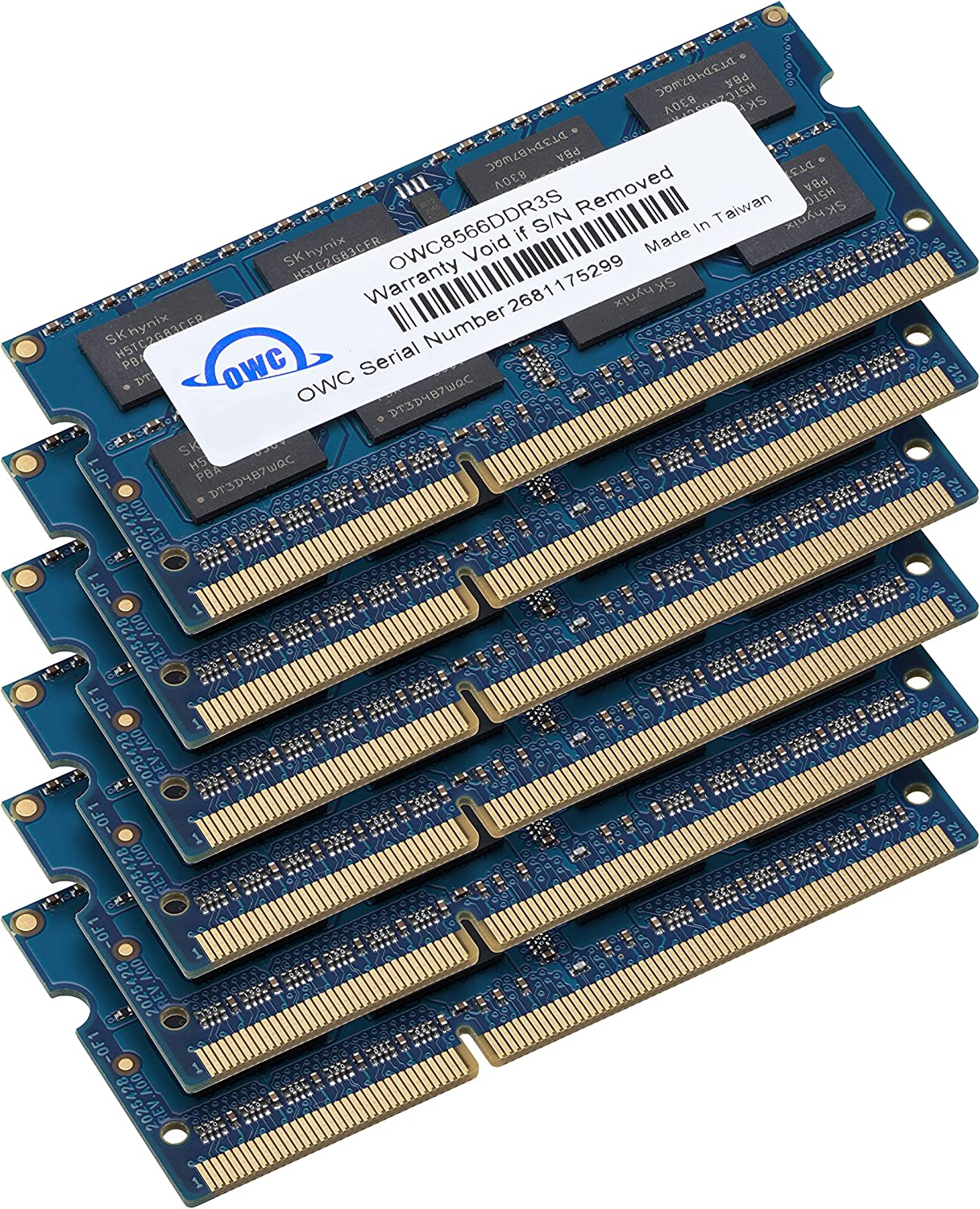 OWC 48.0 GB (6X 8GB) PC8500 DDR3 ECC 1066 MHz 240 pin DIMM Memory Upgrade Kit for 2009 Mac Pro and Xserve