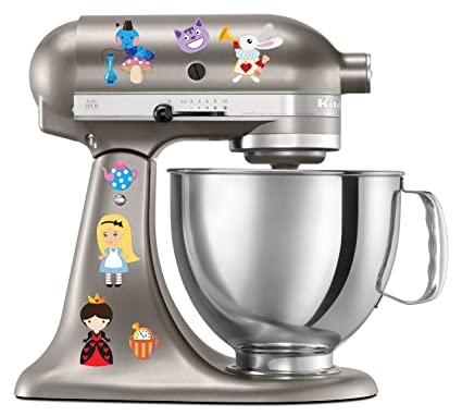 Amazon Com Alice In Wonderland Kitchen Aid Mixer Decal