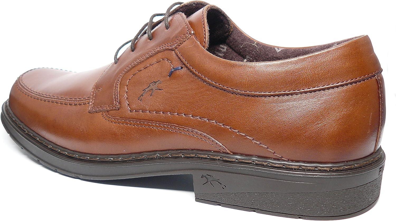 Zapatos Hombre con Cordones FLUCHOS Piel Color Marron 9482-83