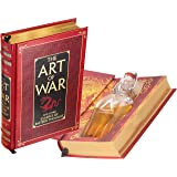 Flask Hollow Book - The Art of War by Sun Tzu (Leather-bound) (Magnetic Closure)