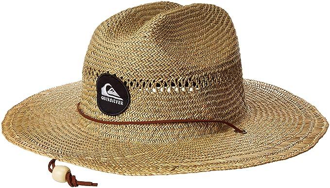 36707bc9 Amazon.com: Quiksilver Men's Pierside Slimbot Sun Protection Hat ...