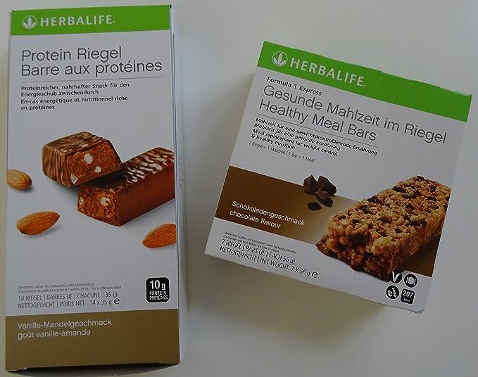 Herbalife 1 x Formula 1 Express de pestillos proteína chocolate ...