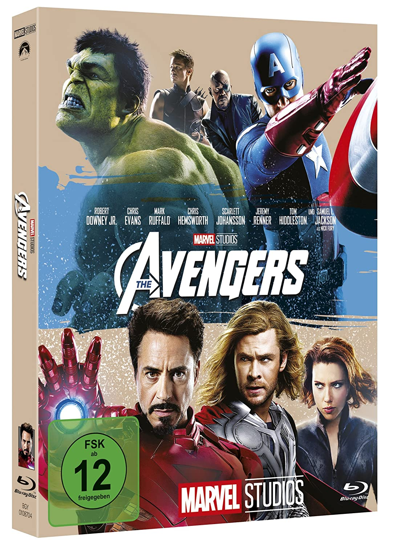Marvels The Avengers [Alemania] [Blu-ray]: Amazon.es: Downey ...