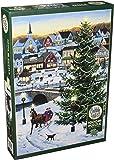 Cobblehill 80141 1000 pc Village Tree Puzzle, Various