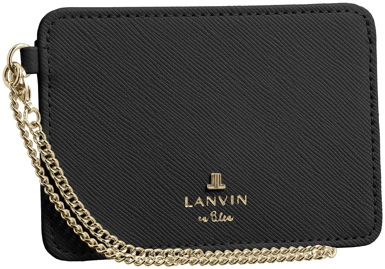 [ランバンオンブルー] LANVIN en Bleu Amazon公式 正規品 LANVIN en Bleu リュクサンブール 単パスケース 480118 B00ISMQENO ダークネイビー ダークネイビー