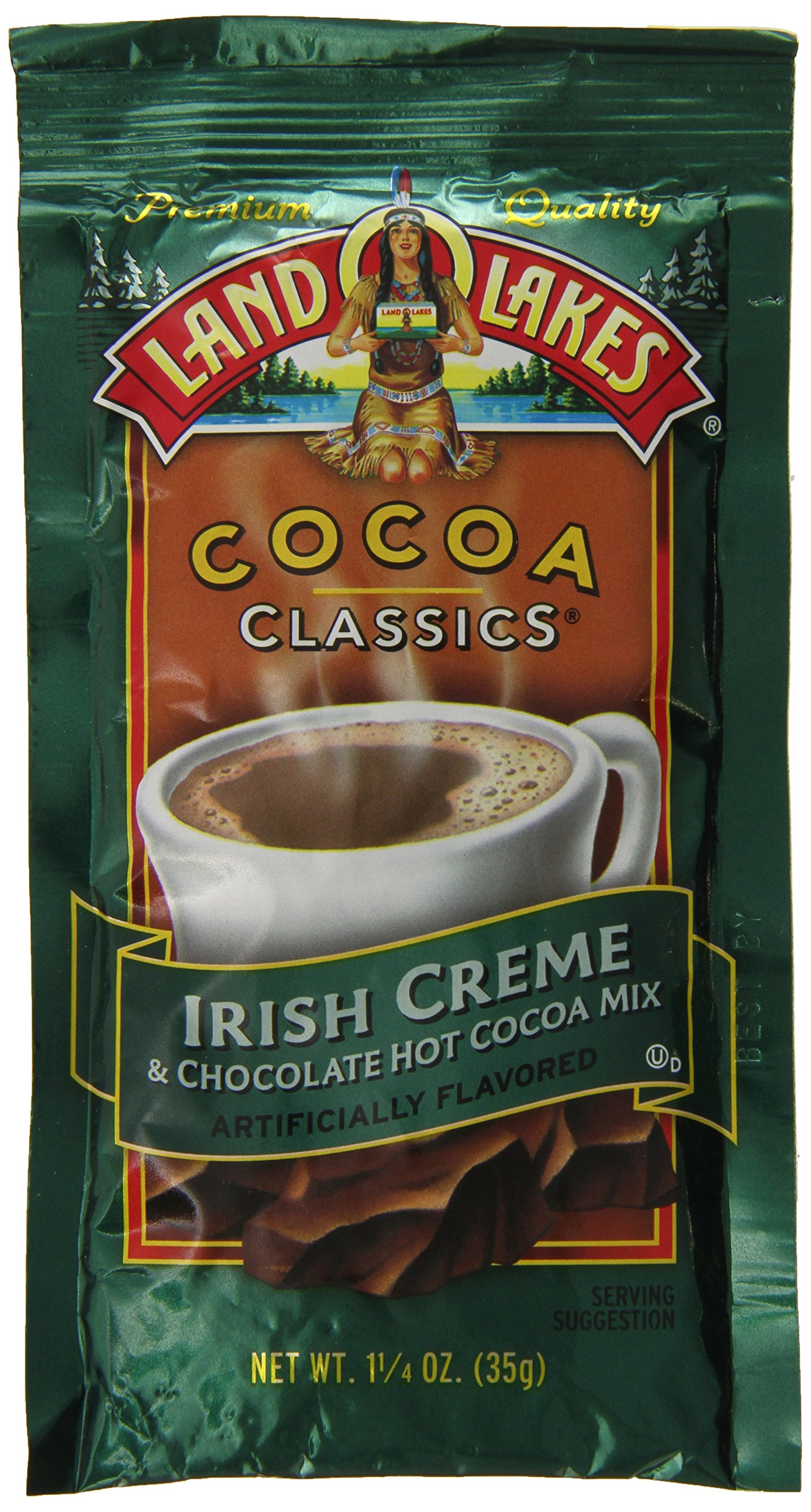 Land O Lakes Cocoa Classics, Irish Creme & Chocolate, 1.25-Ounce Packets (Pack of 12)