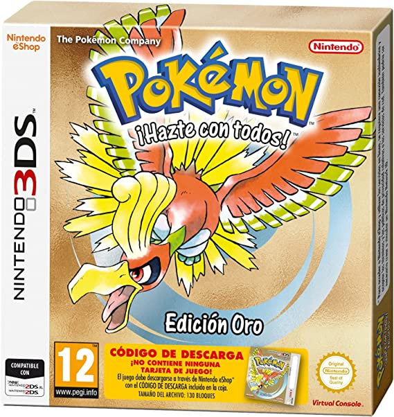 Pokémon: Gold Edition: Amazon.es: Videojuegos