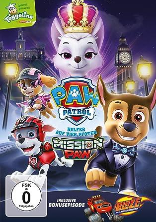 Paw Patrol Mission Paw Amazonde Dvd Blu Ray