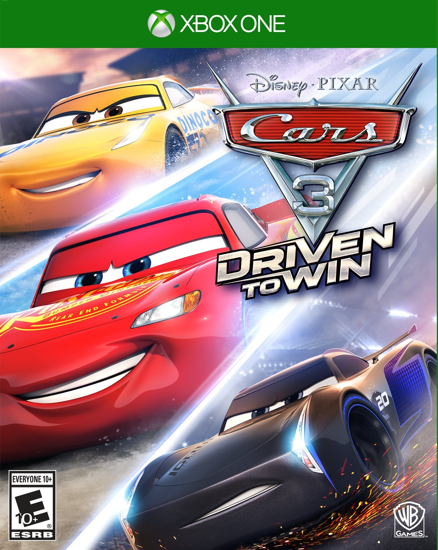 Cars 3 Driven to Win Xbox e NEW
