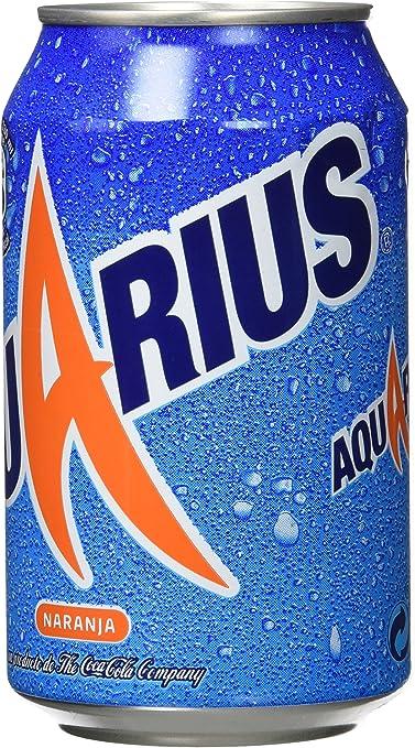 Aquarius - Bebida refrescante de naranja, 330 ml - [pack de 8 ...