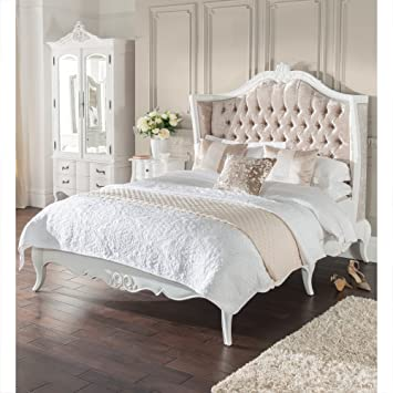 431fd5414e homesdirect365 Estelle Antique French Style Bed Double: Amazon.co.uk:  Kitchen & Home