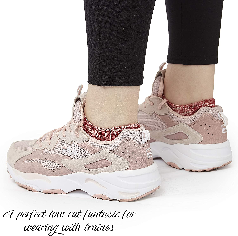 CityComfort Fantasmini Donna Cotone Abbigliamento Unisex Confezione 7 Paia Calzini Corti Sneakers Taglio Basso Calze Invisibili Corti Traspirante Sportive Fantasmino Salvapiede