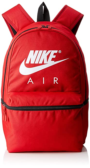 Nike NK Air BKPK, Mochila Unisex Adultos, Multicolor (Gym Red/Black/