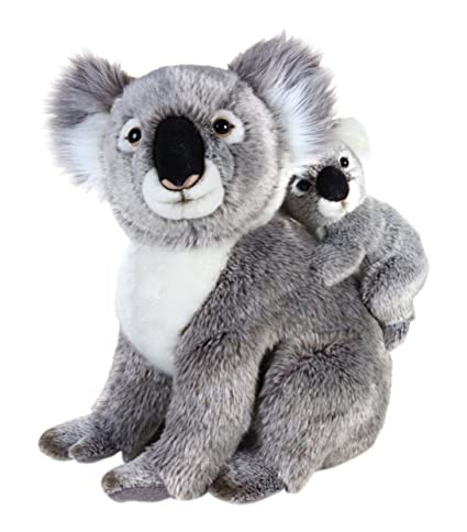 National Geographic Koala with Baby Plush Set