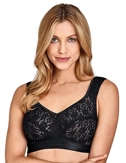 db4b79587ed30 Miss Mary of Sweden Sleep   Relax Non-Wired Bra  Amazon.co.uk  Clothing