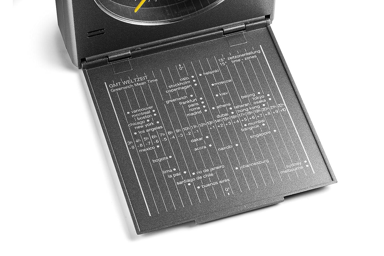 Braun - Despertador de viaje clásico con detector de movimiento, BNC005GYGY, color gris: Amazon.es: Hogar