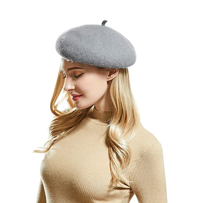 4e70341a038fa French Style Beret Hats