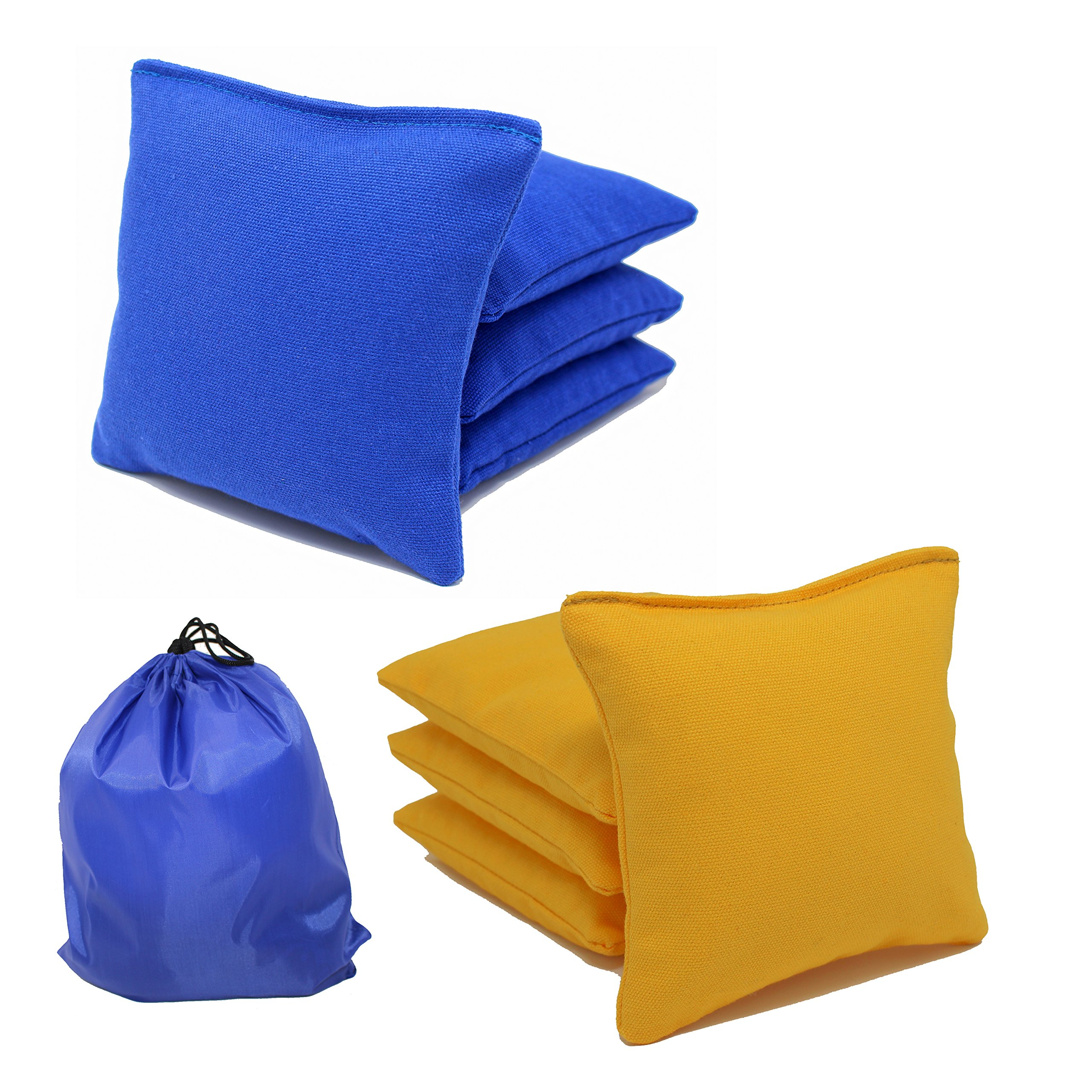 Free Donkey Sports All-Weather Cornhole Bags (Set of 8) (Choose Your Colors)