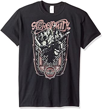 96395e78 Trevco Men's Aerosmith Let Rock Rule T-Shirt: Amazon.in: Clothing ...