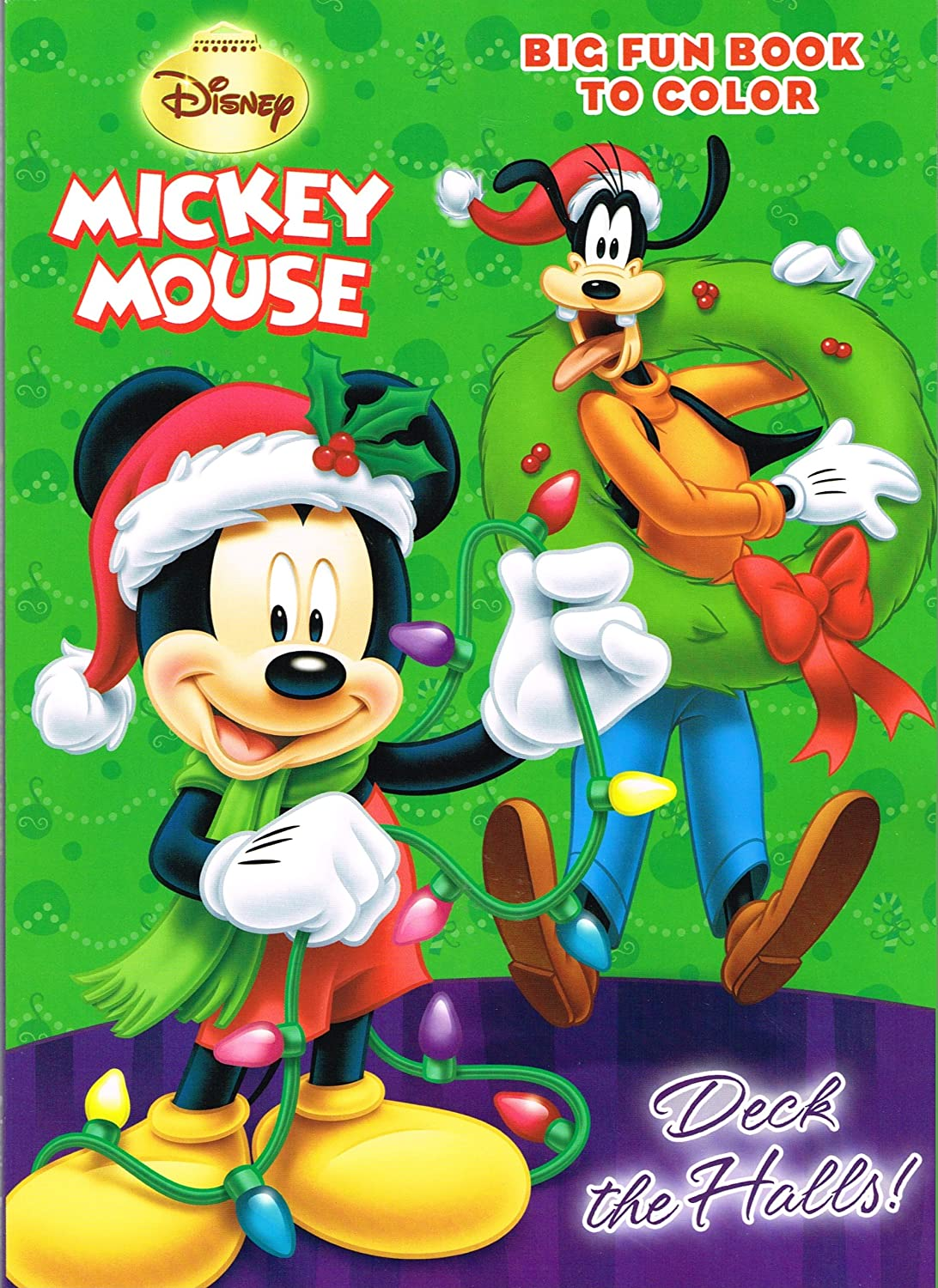 Amazon Com Disney Holiday Coloring Book Set 4 Books 96 Pages Each Minnie Holiday Lights Mickey And Goofy Festive Time Mickey Merry Melodies And Minnie I Love Surprises Toys Games
