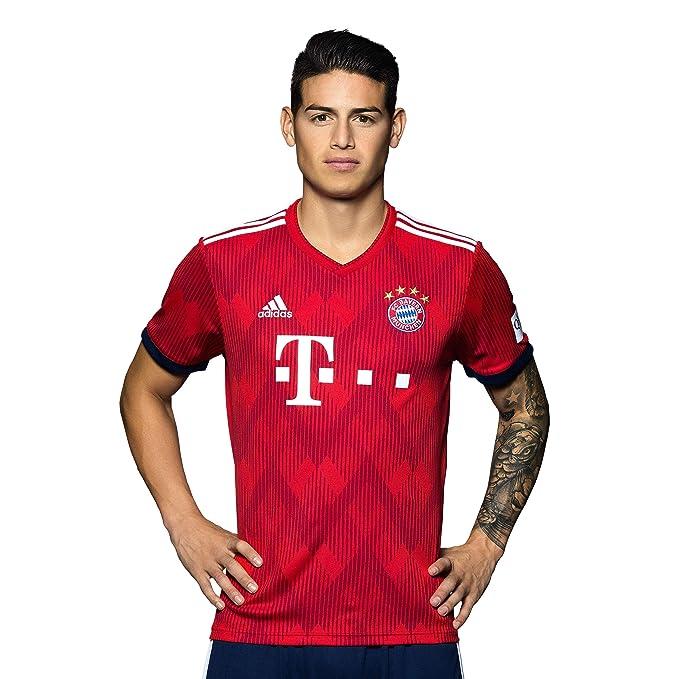 2c67412c92 FC Bayern München Trikot Home, Rückennummer mit Unterschrift Flock, Jersey  18/19: Amazon.de: Sport & Freizeit