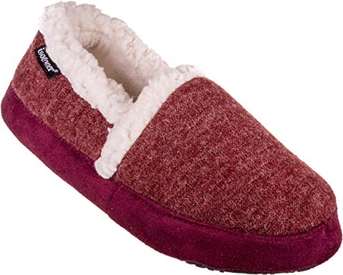isotoner Womens Microsuede Heather Knit