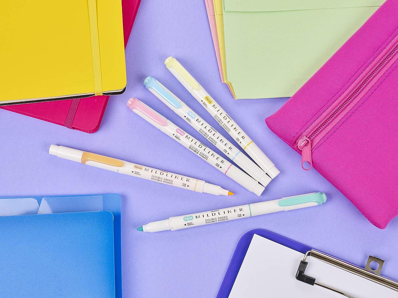 Zebra Pen Mildliner 5-Pack Fluorescent, Multicolors: Office Products