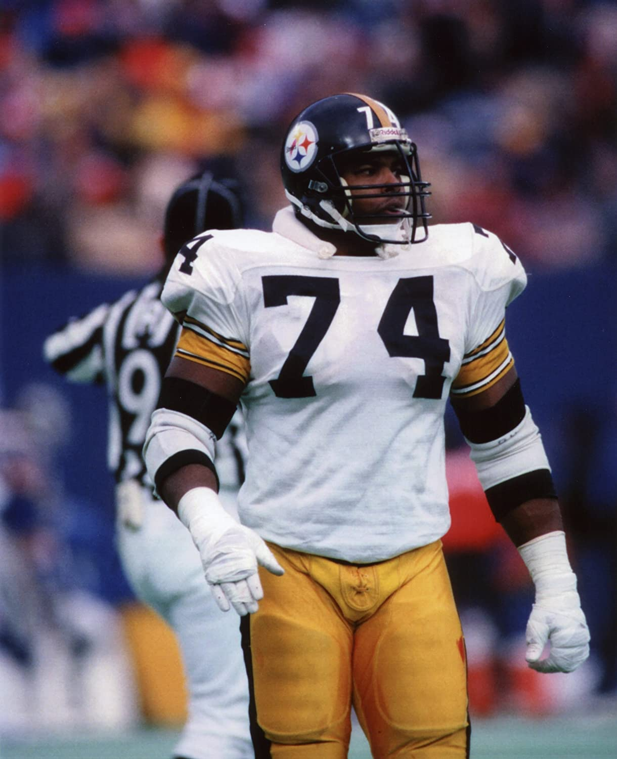 TERRY LONG PITTSBURGH STEELERS 8X10 SPORTS ACTION PHOTO D