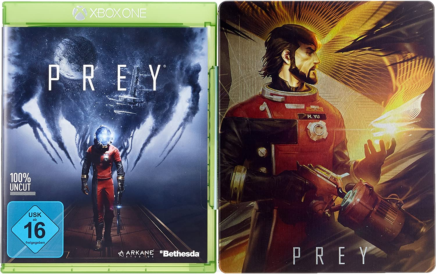 Prey - Day One Edition Inkl. Steelbook [Importación Alemana ...