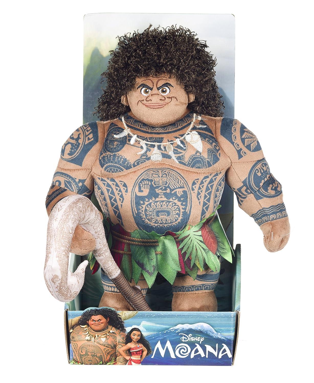 Moana 44877- Peluche del personaje Pua de la película Vaiana, suave, 25,4 cm Posh Paws International Ltd