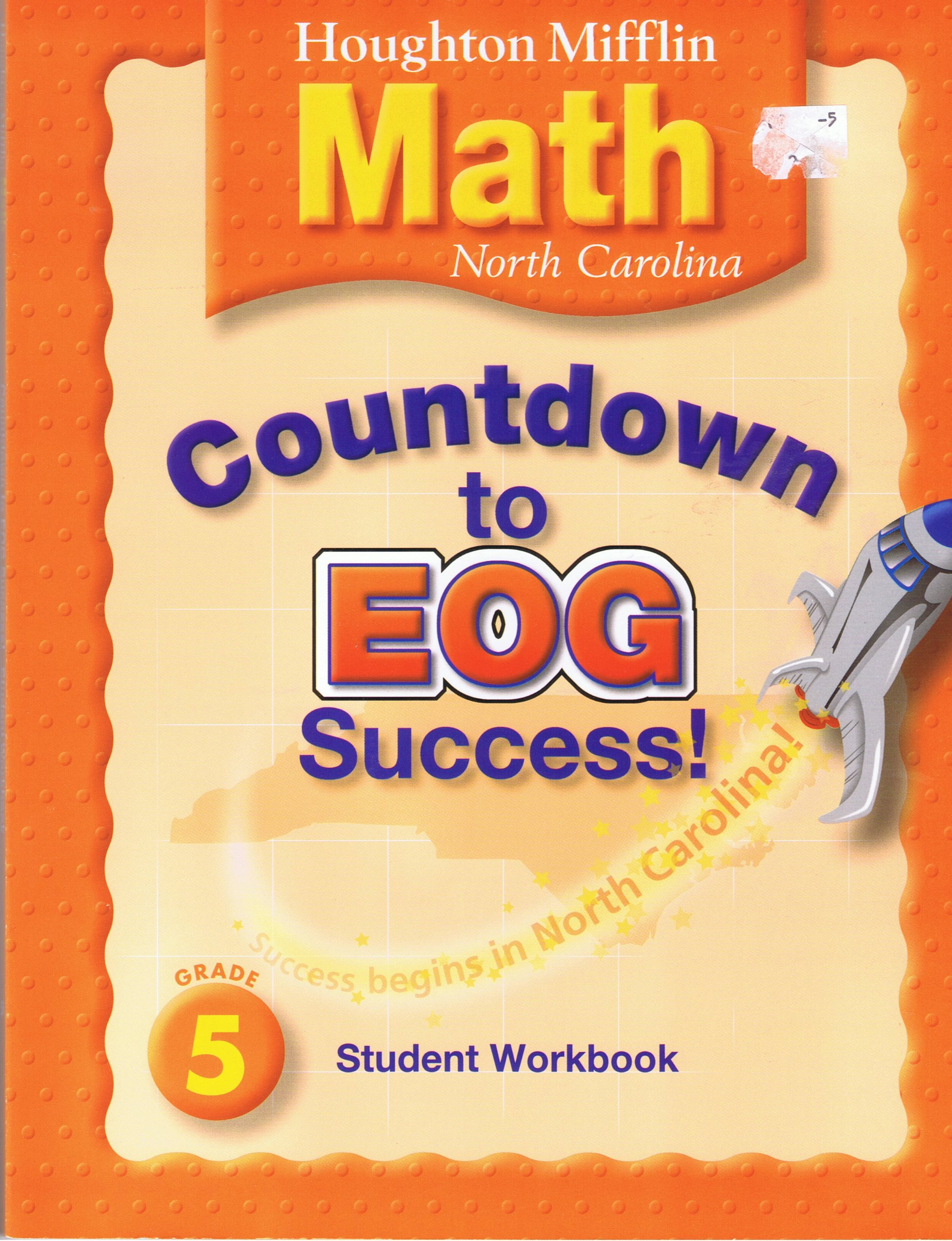 Read Online Houghton Mifflin Mathmatics North Carolina: Countdown End-ofGrade Succ Level 5 pdf epub