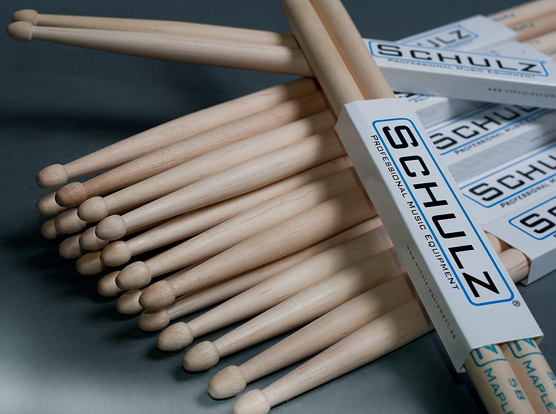 Schulz - Baquetas de arce, 3 pares Schulz ® Equipment
