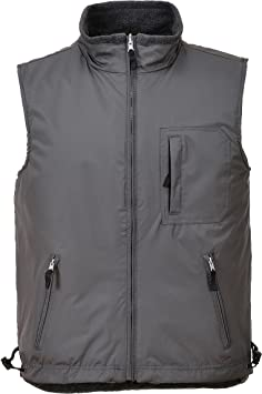 TALLA S. Portwest S418 - Reversibles Bodywarmer RS, color Gris, talla Small