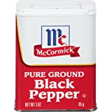 McCormick Ground Black Pepper, 3 oz