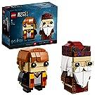 Lego BrickHeadz Ron Weasley & Albus Dumbledore 41621 (180 Pezzi)
