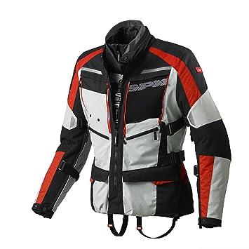 SPIDI d156 - 497 Moto textil Chaqueta 4SEASON, Gris/Rojo: Amazon.es: Coche y moto