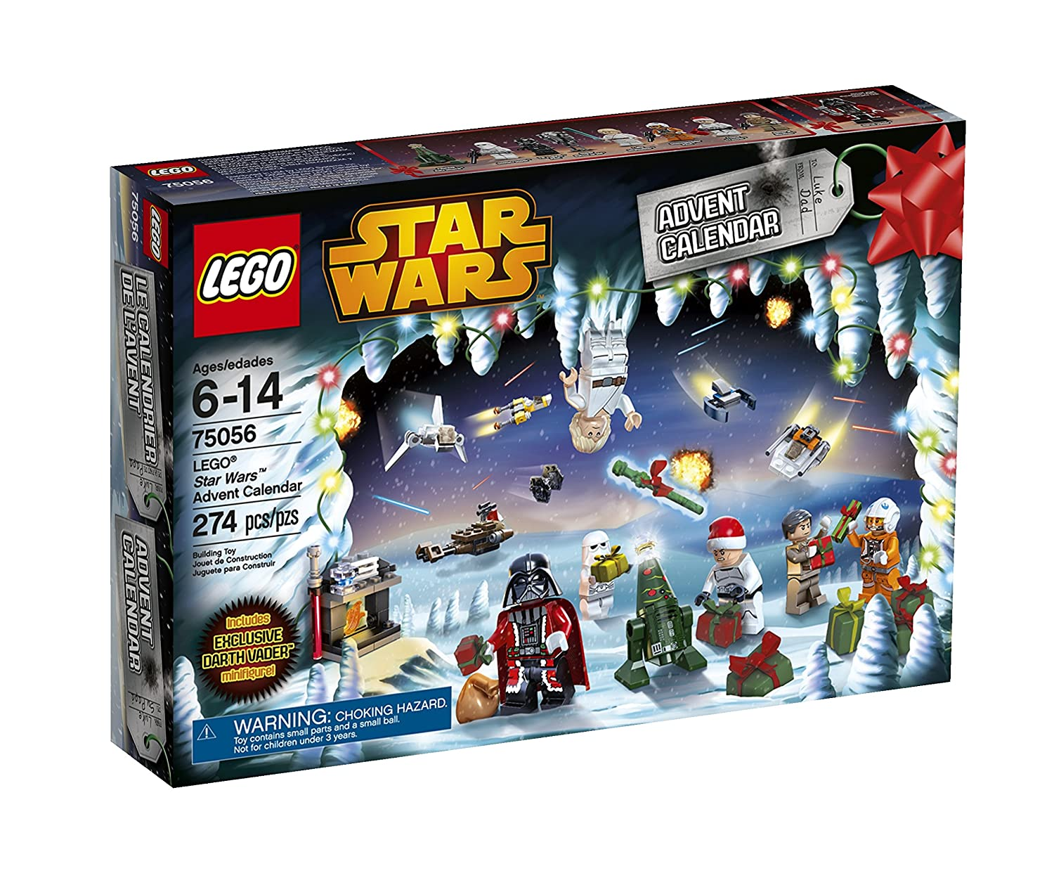LEGO Star Wars #76056 2014 Advent Calendar Stacking Toy 6061442