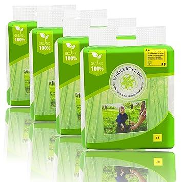 Amazon.com: WHOLEROLL Organic Toilet Paper, Bathroom Tissue, Baby ...