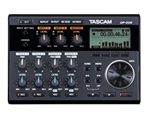 Tascam DP-006 6-Track Digital Pocketstudio Multi-Track Audio Recorder